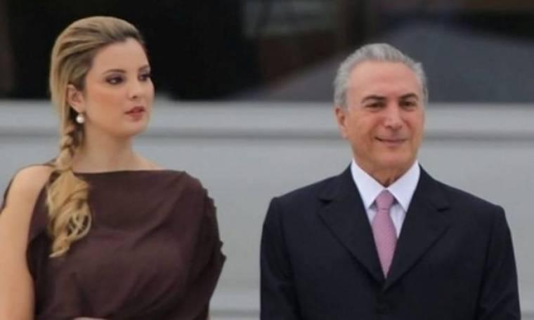 Ο 70άρης αντιπρόεδρος και η 27χρονη σύζυγός του