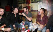 Η Άντζελα Δημητρίου και ο Χρήστος Μενιδιάτης διασκέδασαν στον Σπυράκο