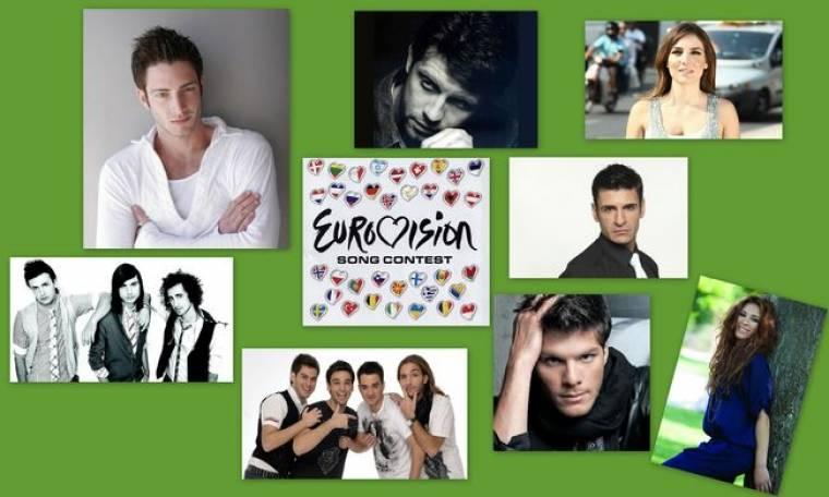Η λίστα της ΕΡΤ με τις ελληνικές υποψηφιότητες της Eurovision 2011