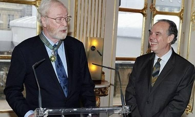 Ο Michael Caine τιμήθηκε από τη Γαλλία