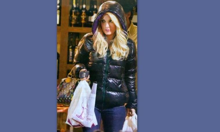 Στιγμιότυπα από τα πρόσφατα ψώνια της Ελένης Μενεγάκη!