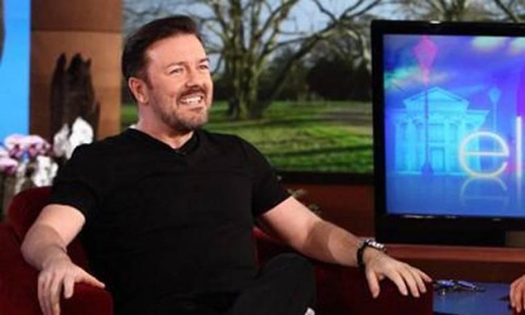 Video: Ο Gervais παίζει με την Ellen