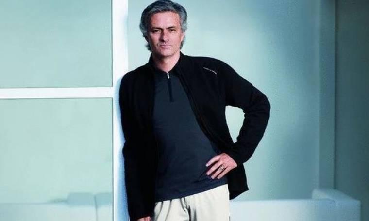 Ο Jose Mourinho... μοντέλο