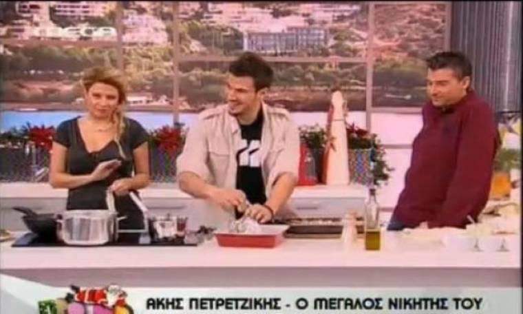 """Τέλος ο Πετρετζίκης από το """"Πρωινό μου"""" (Aποκλειστικά στο gossip-tv και στο Nasos blog)"""