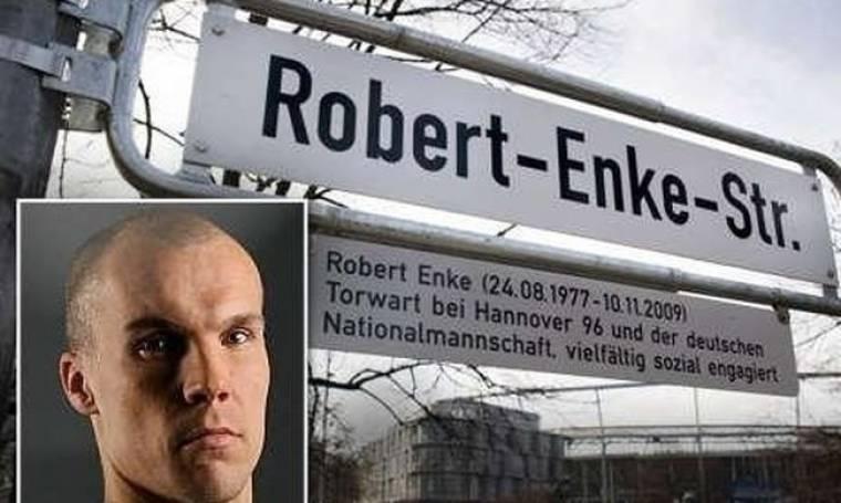 Δρόμος στο Ανόβερο πήρε το όνομα του Ρόμπερτ Ένκε