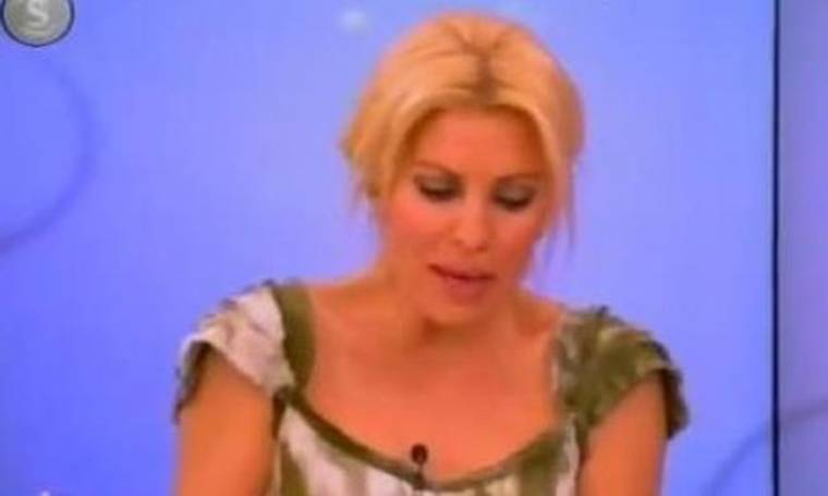 Video: Η Ελένη Μενεγάκη έπαθε κρίση με την ηλικία της!
