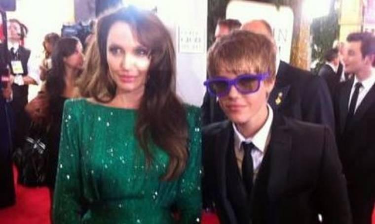 Όταν ο Justin συνάντησε την Angelina