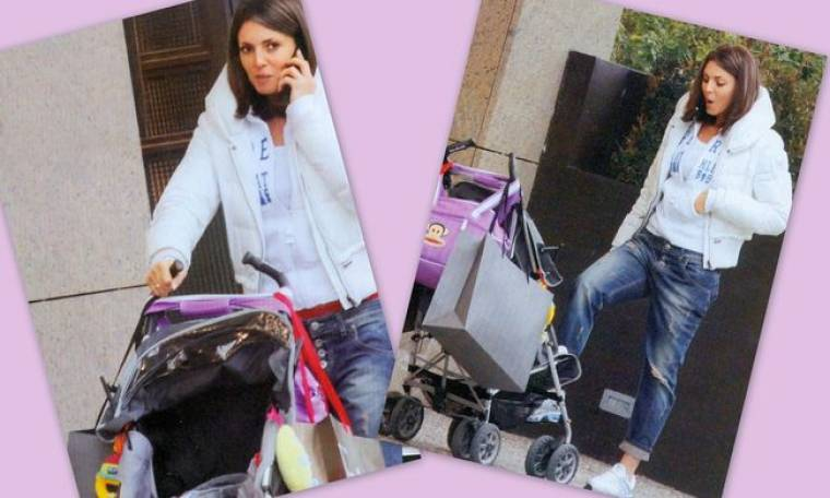 Κατερίνα Λάσπα: Με την κόρη της στη Γλυφάδα