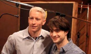 Video: Anderson Cooper και Daniel Radcliffe στο Μπρόντγουεϊ