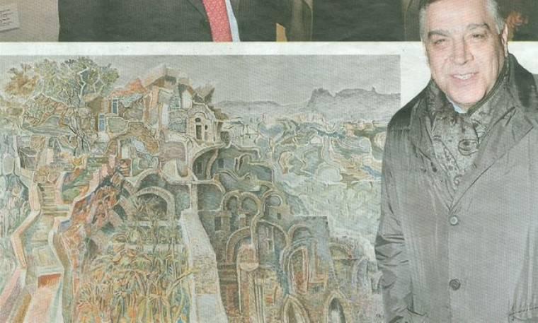 Αντώνης Κομνηνός: Πάνω από 500.000 ευρώ στο Greek Sales για έργα τέχνης