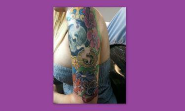 Νέο tattoo για τη sexy Ελίνα!