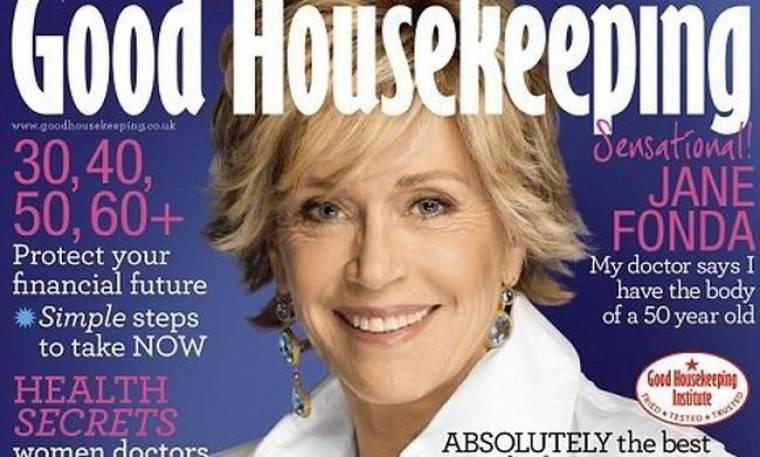 Η Jane Fonda χωρίς ρετουσάρισμα