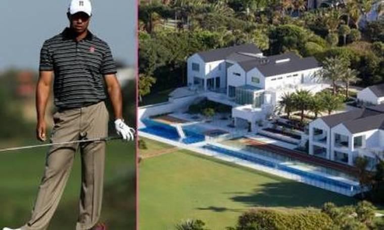 Το νέο… φτωχικό του Tiger Woods