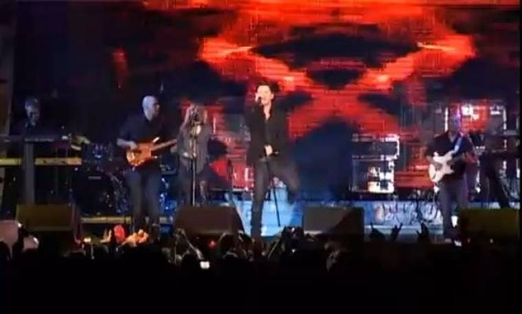 Video: Με άρωμα Ζέτας η συναυλία του Χατζηγιάννη στην Θεσσαλονίκη