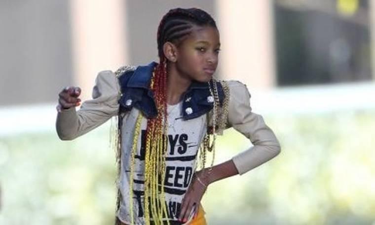 To παιδαρέλι της pop, Willow Smith, στην Teen Vogue