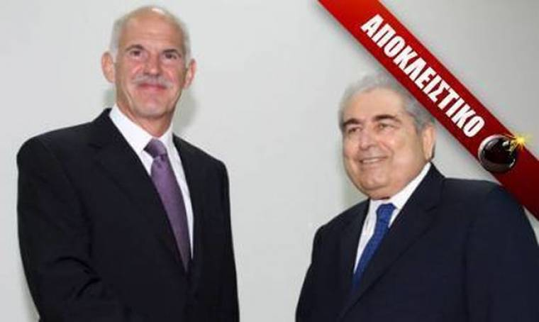 Παπανδρέου σε Χριστόφια: «Δημήτρη δεν μπορώ, βάζουν βέτο οι Τούρκοι»