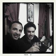 Νίκος Αλιάγας: Στιγμιότυπα από το πρόσφατο ταξίδι του στο χωριό του