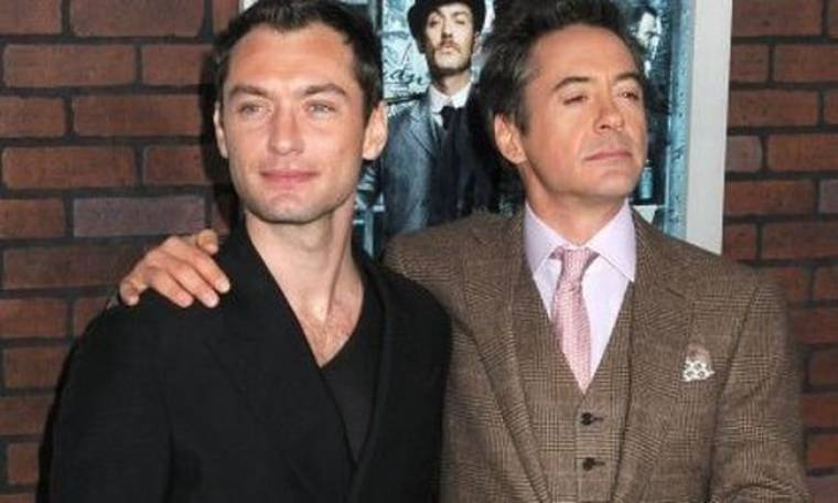 Robert Downey Jr. και Jude Law ξανά μαζί