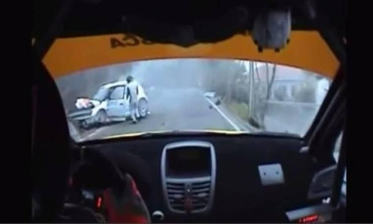 Δείτε το σοκαριστικό βίντεο με το ατύχημα του Robert Kubica