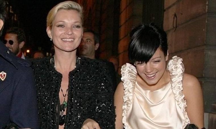 H Kate Moss και η Lily Allen διαλέξανε την ίδια μέρα για party