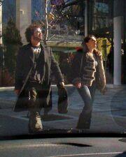 Η πρώτη βόλτα Δάντη-Τζένης μετά τον ερχομό του παιδιού τους!