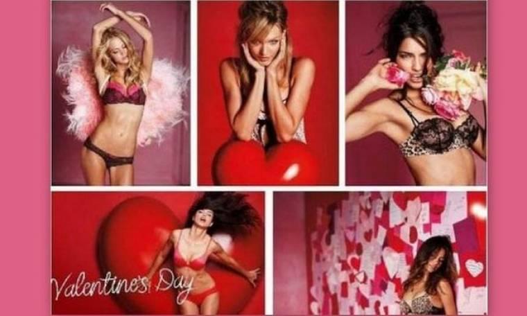 Video:Η Victoria's Secret και ο Άγιος Βαλεντίνος πάνε μαζί