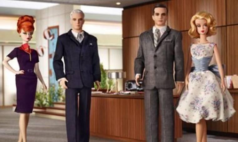 Τύφλα να έχει η Barbie γιατί οι Mad Men έγιναν κούκλοι