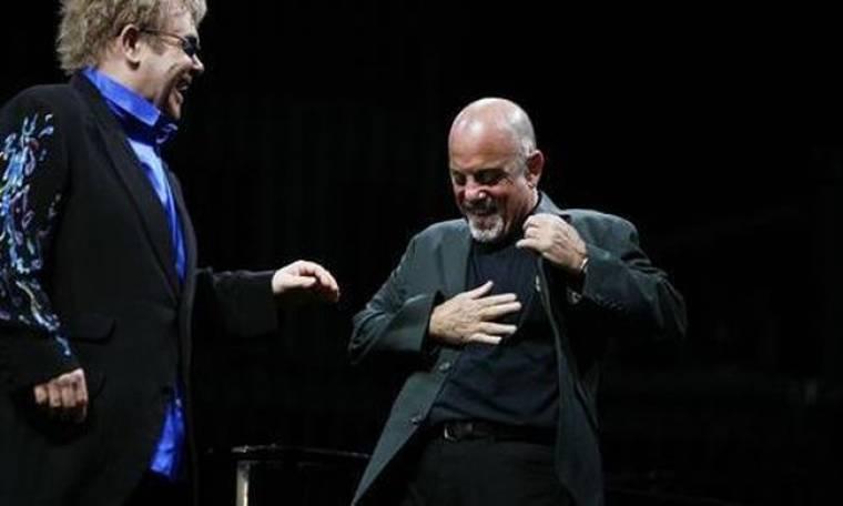 Billy Joel: Δεν θέλω να χτυπήσω τον Elton John