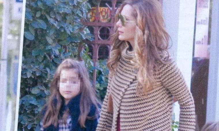 Δέσποινα Βανδή: Με τα παιδιά της στην Κηφισιά