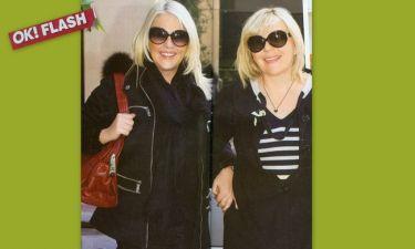 Για shopping στη Θεσσαλονίκη η Ρούλα Κορομηλά