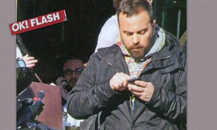 Βασίλης Καλλίδης: Στο κέντρο της Αθήνας για τα γυρίσματα της εκπομπής του