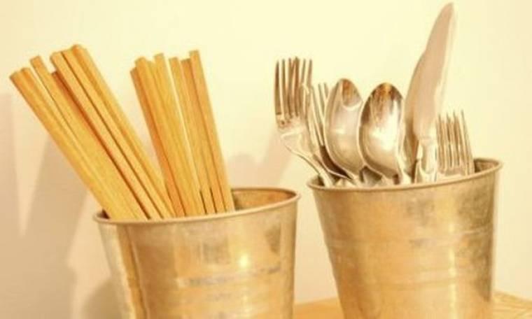 Το στήσιμο της κουζίνας από την αρχή: Κουτάλια και μαχαιροπίρουνα