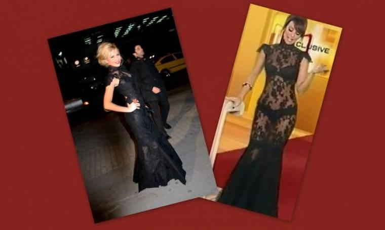 Μπουλέ-Μαγγίρα με το ίδιο φόρεμα