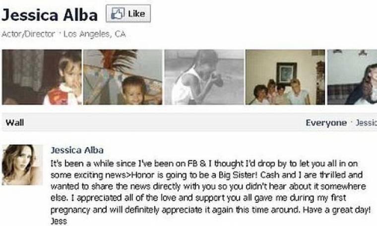 Έγκυος η Jessica Alba