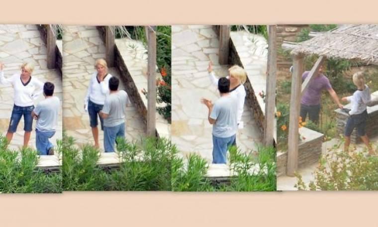 Ένα αρχοντικό για την Μενεγάκη στην Άνδρο (Αποκλειστικά στο gossip-tv και στο Nasos blog)