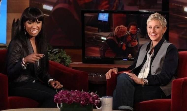 Video: Η Jennifer Hudson στην Ellen DeGeneres