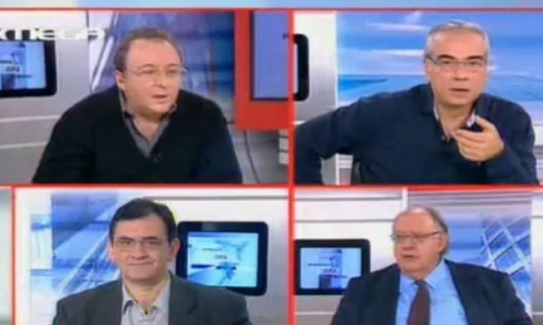 Πάγκαλος σε Καμπουράκη-Οικονομέα:«Το πιο σοβαρό πράγμα στην εκπομπή σας είναι ο καιρός»!