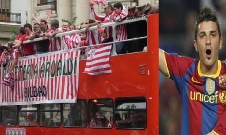 Το …λεωφορείο της Μπιλμπάο και η Μπαρτσελόνα