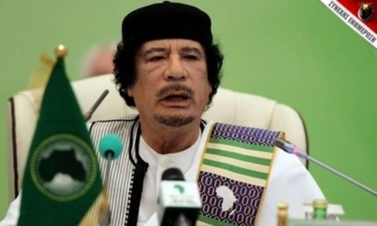 """""""Πολεμικό"""" διάγγελμα Καντάφι"""