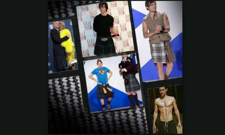 Άντρες με φούστες