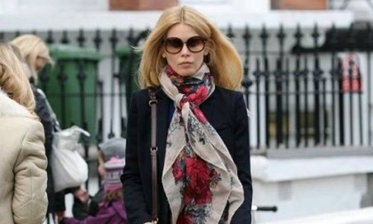 Claudia Schiffer : Νοικοκυρά σε απόγνωση
