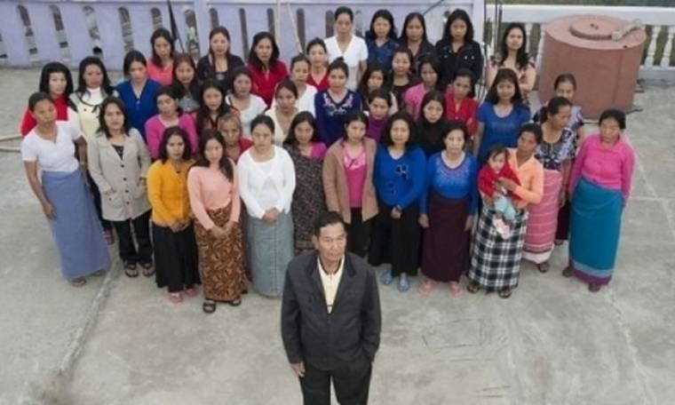 Έχει 39 γυναίκες, 94 παιδιά και 33 εγγόνια
