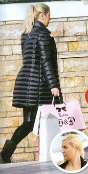Ράνια Θρασκιά: Στην Κηφισιά για ψώνια