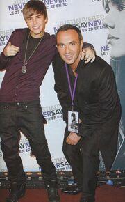 Συνάντηση Αλιάγα και Bieber στο Παρίσι!