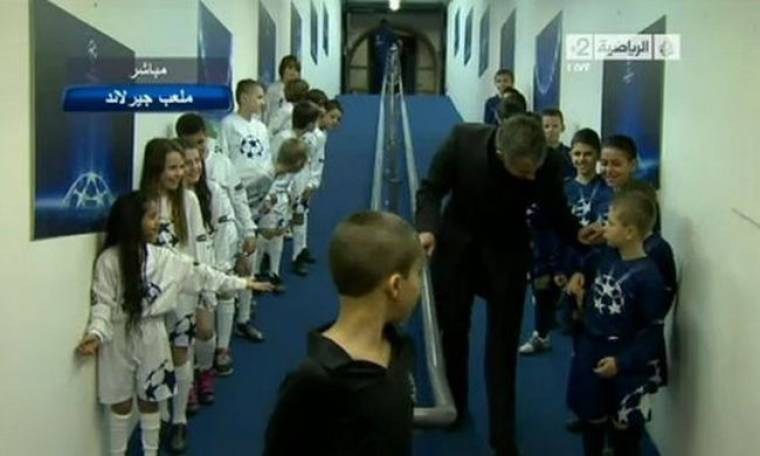 Video: Special συμπεριφορά από τον… Special One