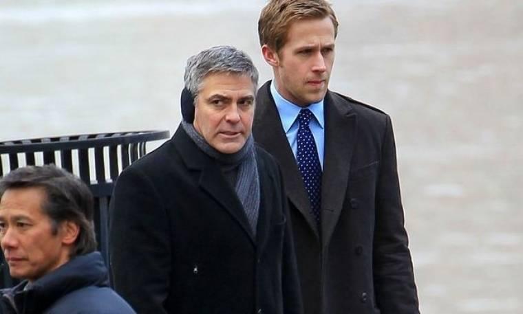 Clooney και Gosling στα πλατό