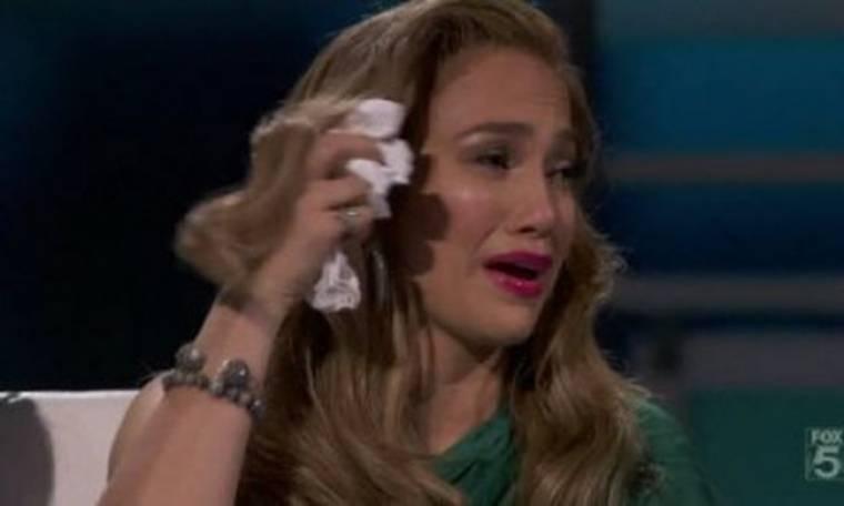 Η Jennifer Lopez έχει πλαντάξει στο κλάμα