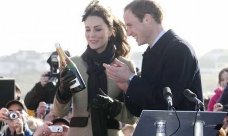 Ο πρίγκιπας William, η Kate Middleton και η βάφτιση