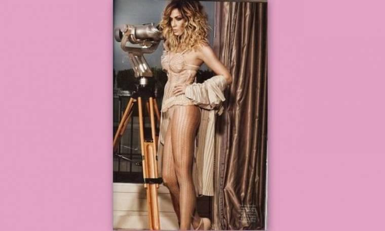 Ο Jean Paul Gaultier σχεδιάζει και η Άννα Βίσση ποζάρει σε ρόλο μοντέλου