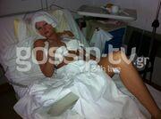 ΑΠΟΚΛΕΙΣΤΙΚΟ: Φωτογραφίες και δηλώσεις της Τζούλιας μέσα από το χειρουργείο (Μέρος Β)